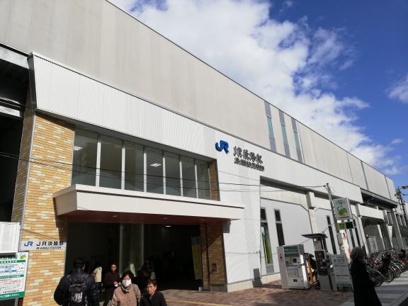JR 淡路駅開通